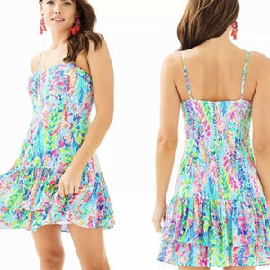 Lilly Pulitzer MORGANA Dress CATCH THE WAVE Sz 12